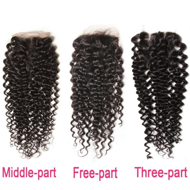 lace closure hairstyles