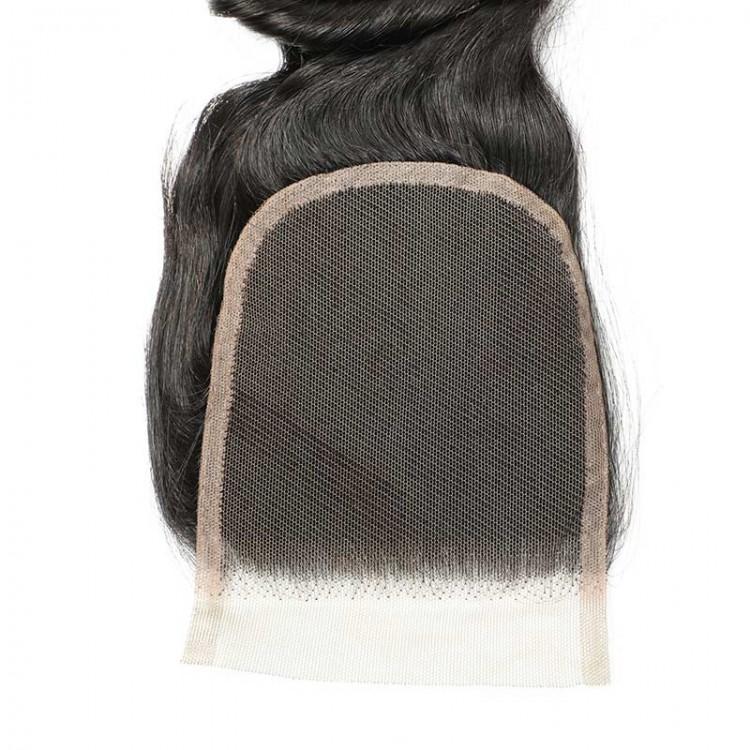 lace closure bleach knots