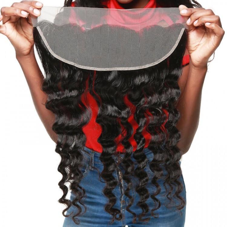 human hair lace frontals