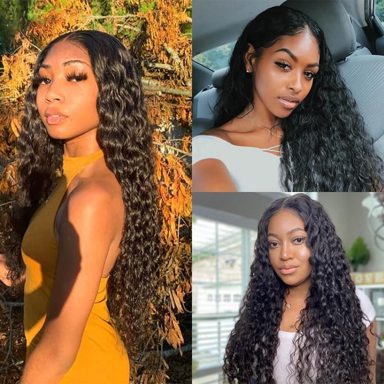quality natural wave u part wig