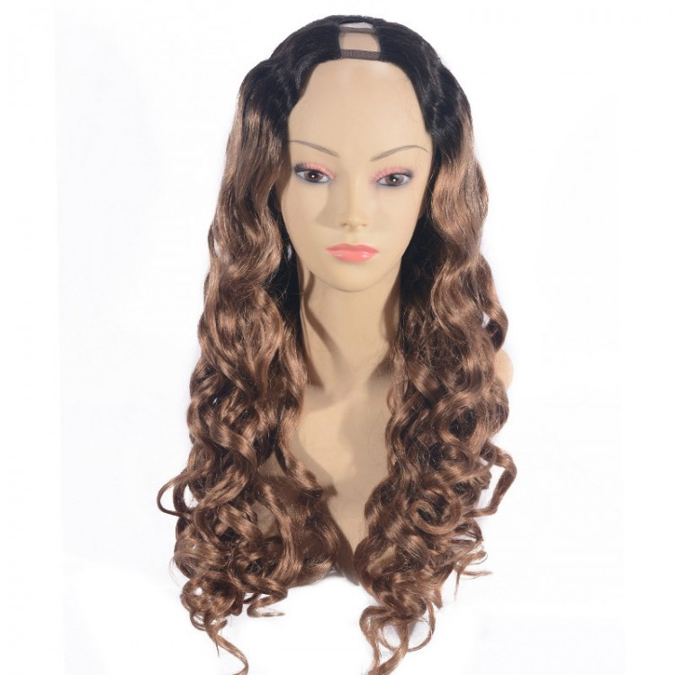 ombre u part wig