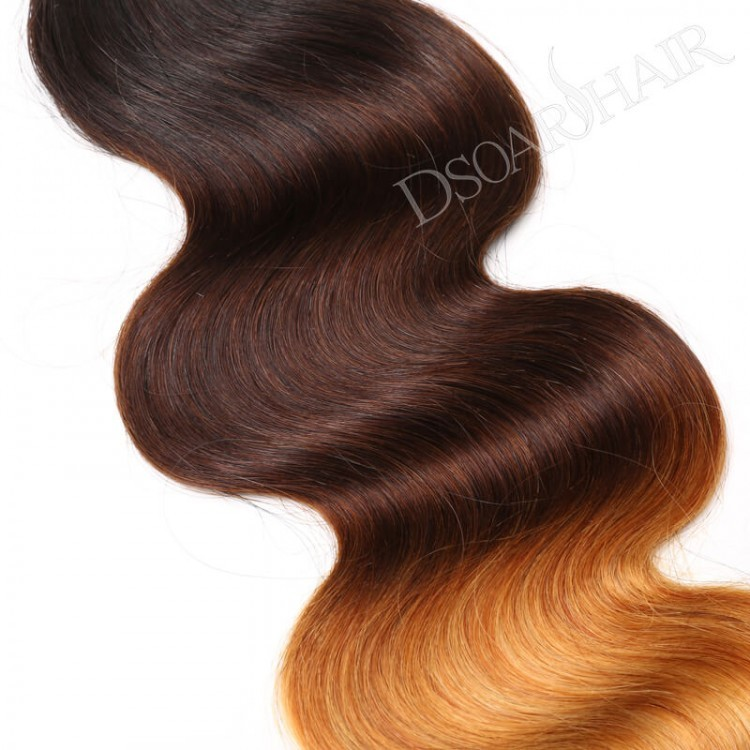 Body Wave 3 tone Ombre Hair