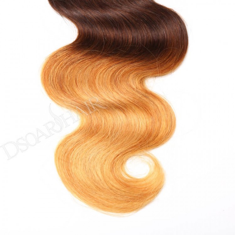 Ombre Body Wave virgin human Hair