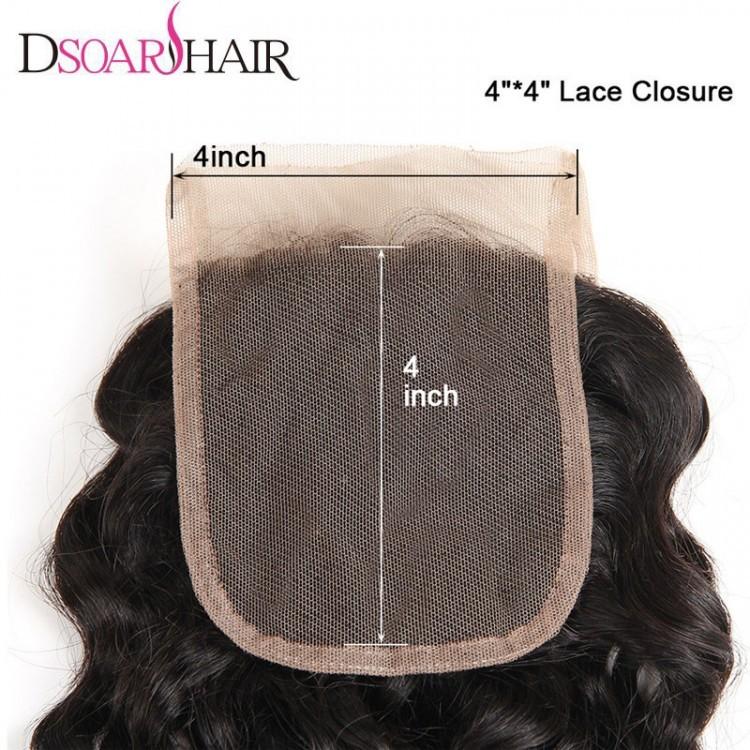 4x4 lace closure