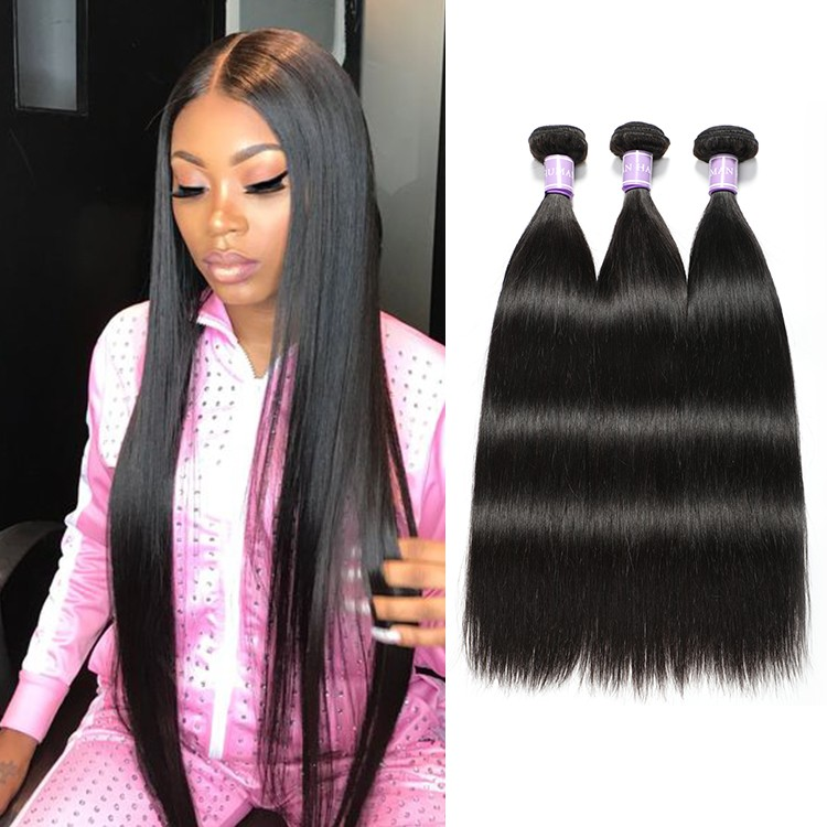 DSoar Peruvian Straight Virgin Hair 3 Bundles