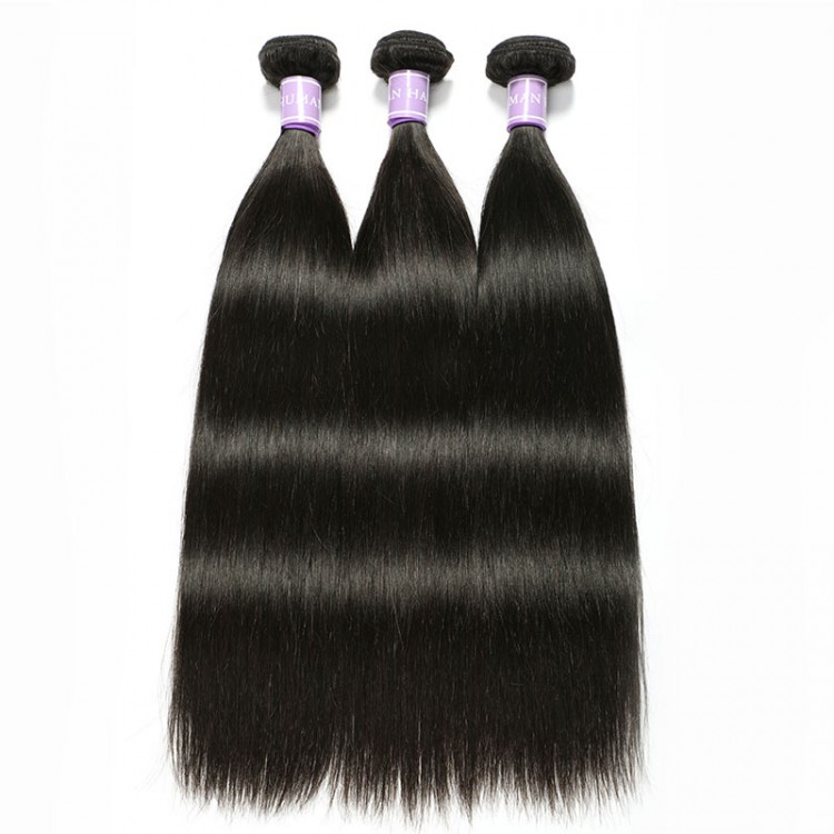 Malaysian straight hair bundle deals
