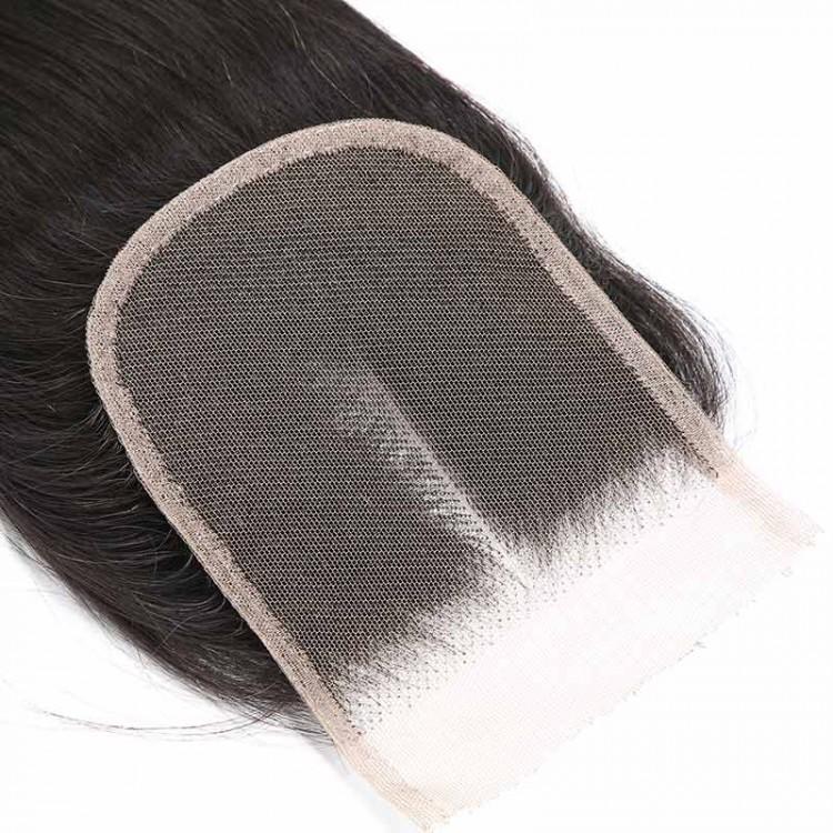 middle part lace closure