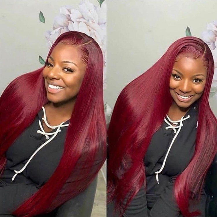 99j straight lace wig
