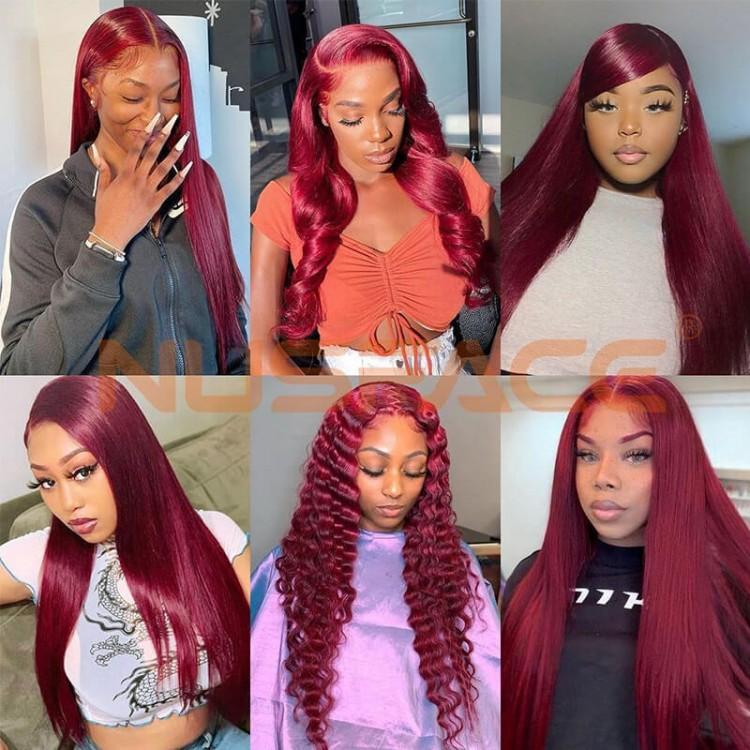 99j straight human hair wig