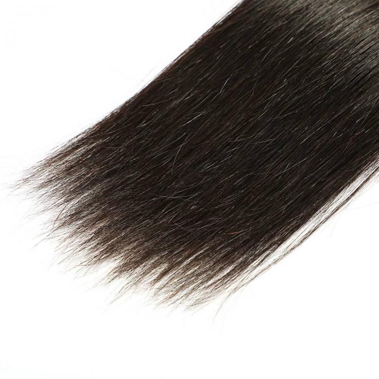 straight hair weft