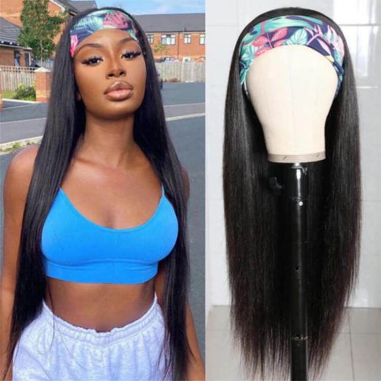 straight headhand wig