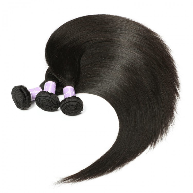 straight virgin hair 3 bundles