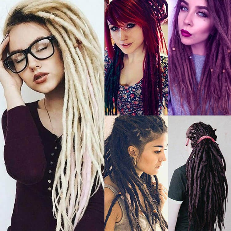 synthetic dreads for guys