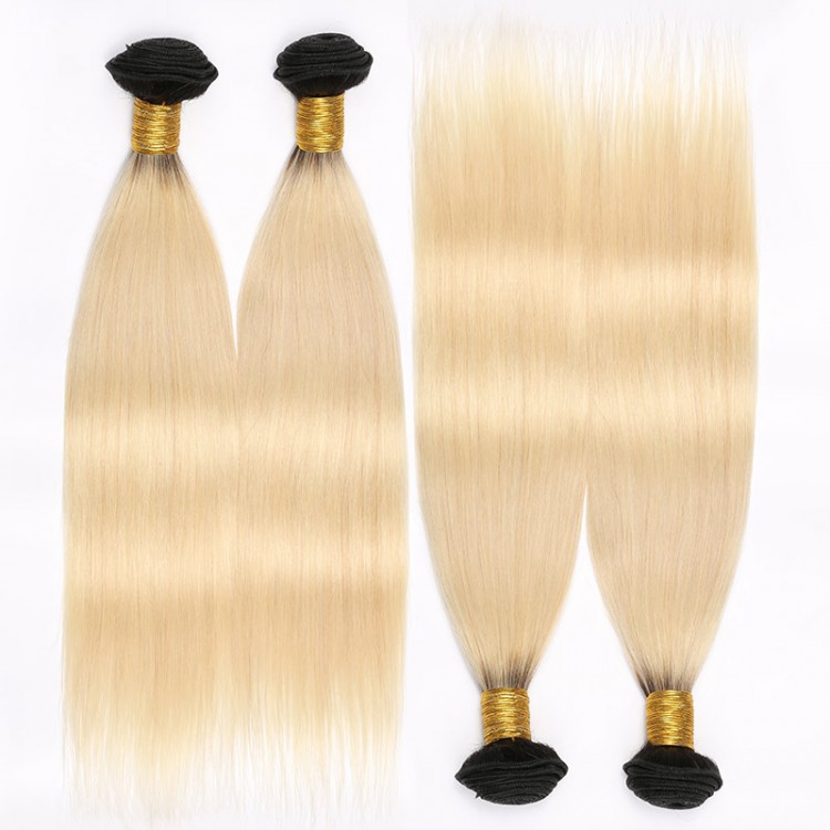 Blonde Ombre Hair 4 Bundles