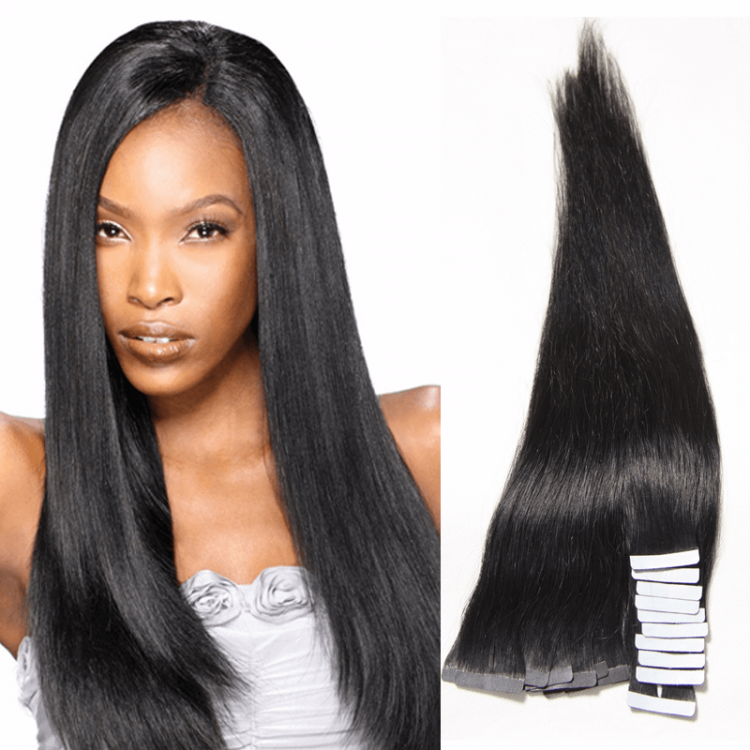 Straight Taping In Human Virgin Hair