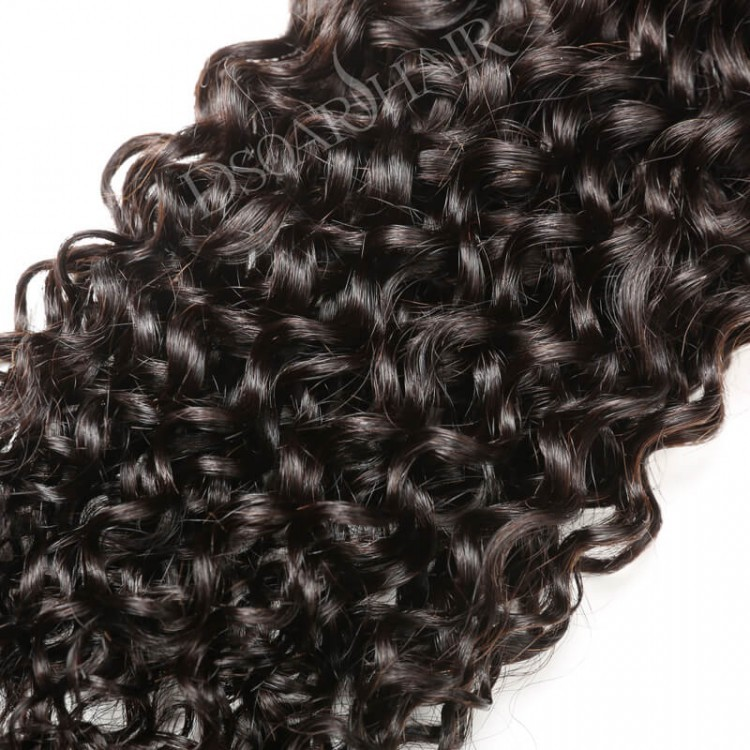 Curly Hair Weave Sew In