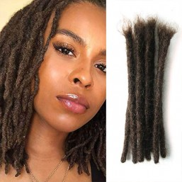 100% human hair dreadlock extensions
