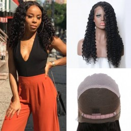 Long Jerry Curly Lace Front wigs
