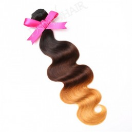 Body Wave Virgin Hair Ombre Human Hair