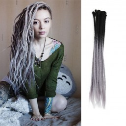 Ombre T2/38 Color Crochet Dreads Hair Synthetic Dreadlocks