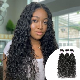 3pcs/pack DSoar Hair Peruvian Virgin Hair Natural Wave Human Hair Bundles