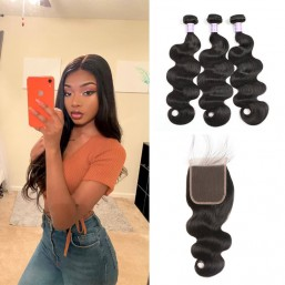 4x4 lace closure