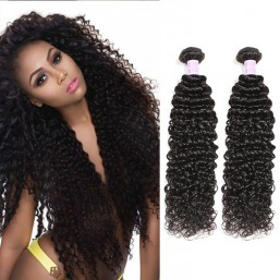 3pcs/pack Curly Hair Weave Sew In