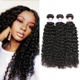 3pcs/pack Virgin Curly Wave Hair