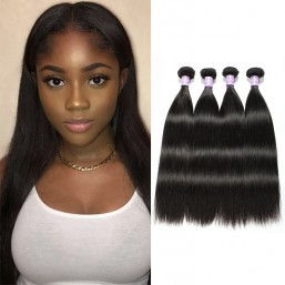 Unprocessed Human Virgin straight hair weave