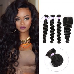 loose deep wave hair