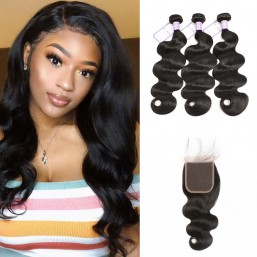 Malaysian 5x5 body wave hair bundles