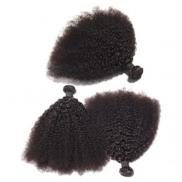 Indian kinky curly Afro hair