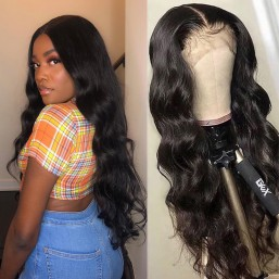 5x5 lace front wig
