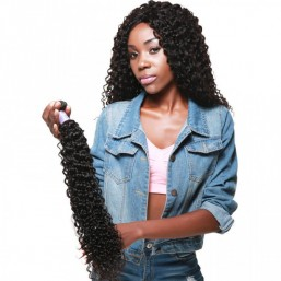 Curly Human Hair 1 PCS
