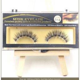 DSoar Hair 100% Natural MinkFur Hand Made Eyeflash Extensions
