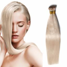 DSoar Hair 100g Keratin I Tip Peruvian Straight Virgin Hair Extensions