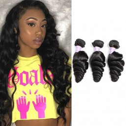loose wave remy hair