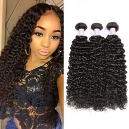 Malaysian Curly Hair Weave 3 Bundles