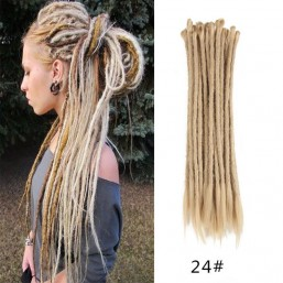 24# Sand Color Crochet Braids Dreads