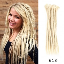 DSoar Best 613 Blonde Crochet Hair Synthetic