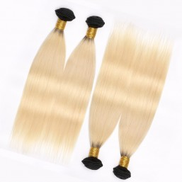 Blonde Ombre Hair 4 Bundles