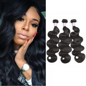 100% DSoar Hair Human Virgin Hair 3 Bundles Remy Body Wave Hair