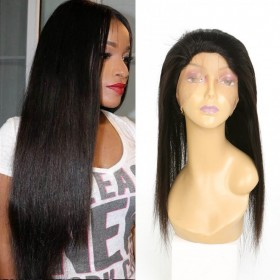 DSoar Hair Hot Sale 360 Lace Frontal Top Grade Straight Virgin Human Hair