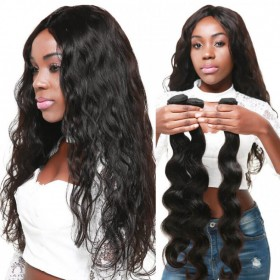 DSoar Hair Malaysian Body Wave Virgin Hair 3 Bundles