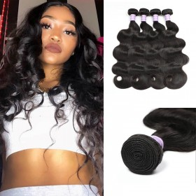 High Quality Virgin Human Hair DSoar Hair 4 Bundles Body Wave Hair