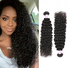 DSoar Hair 3 pcs/pack Brazilian Curly Hair Weaving