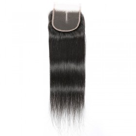 DSoar Hair Straight Human Virgin Hair Lace Closure