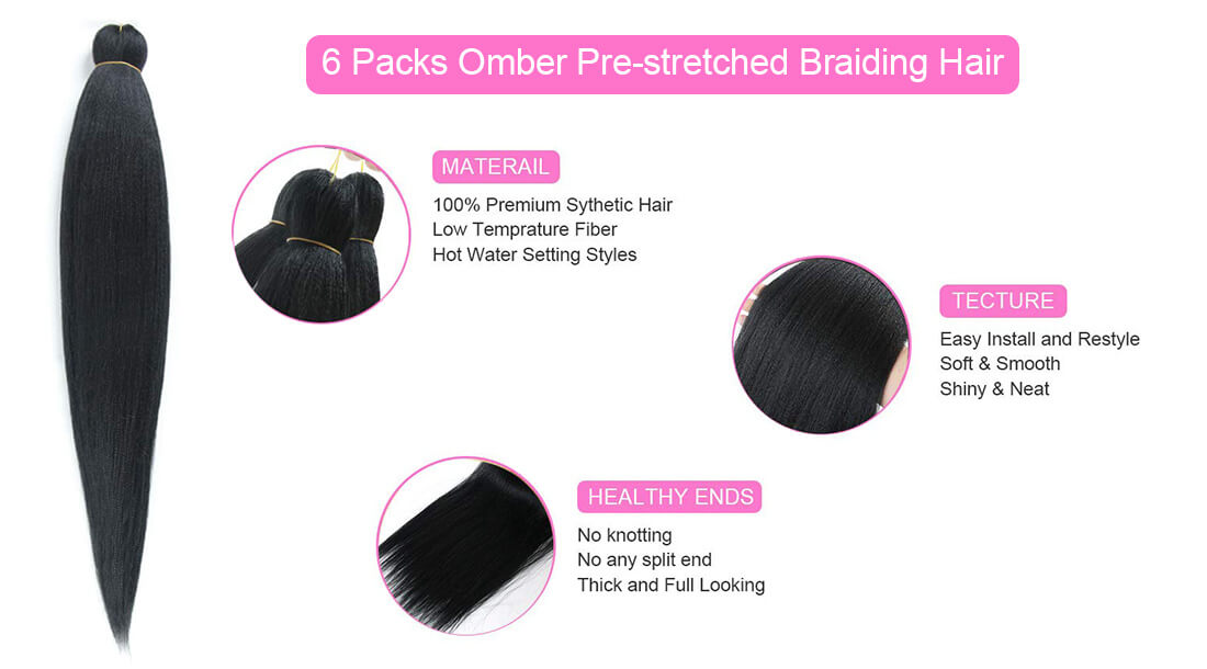braid synthetic crochet hair extensions