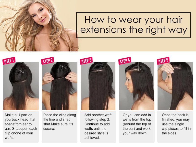 How To Use Hair Extensions Dsoar Hair
