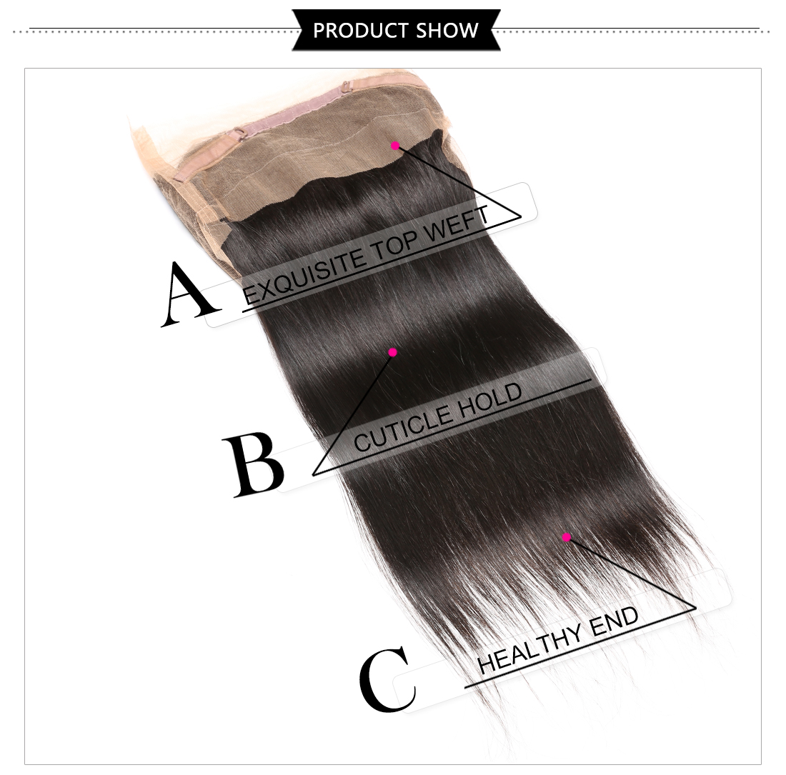Hot Sale 360 Lace Frontal
